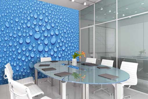 Conference Room Automation Meeting Room Automation Columbus Ohio - Blue conference table